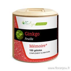 Gélules Ginkgo feuille