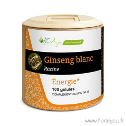 Gélules Ginseng Blanc racine