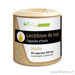 Huile de Lécithine de Soja...