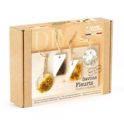 Kit Savons fleuris - DIY