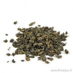 Thé vert feuille Gunpowder