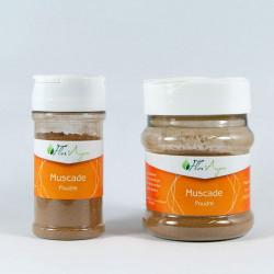 Muscade poudre en pot à épice