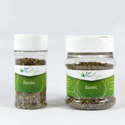 Basilic feuille en pot à épice